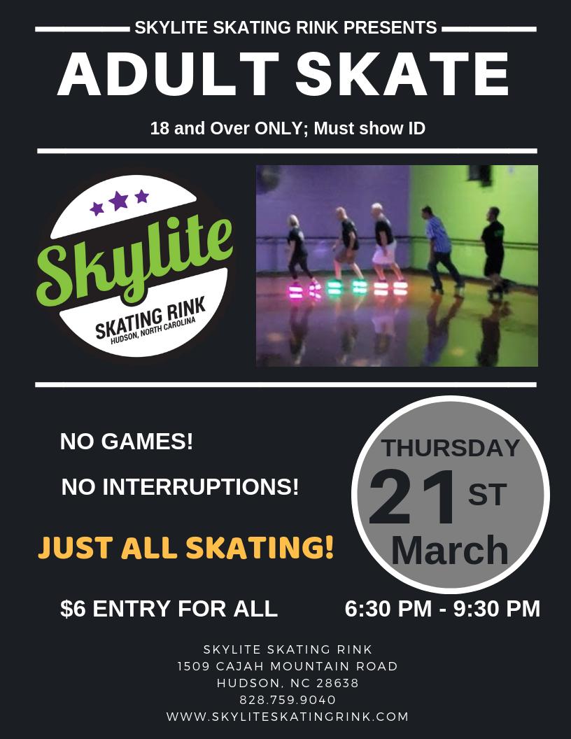 Adult Skate 03.21.19