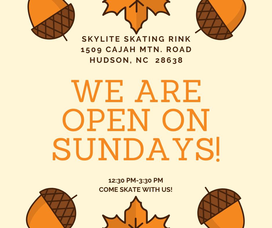 Open on Sundays