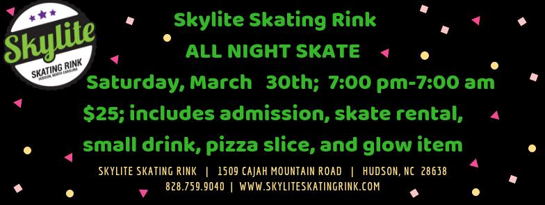 All Night Skate 03.30.19